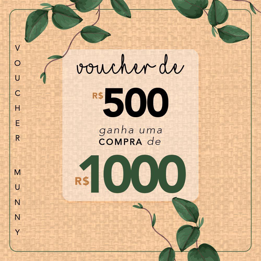 VOUCHER MUNNY R$1000,00
