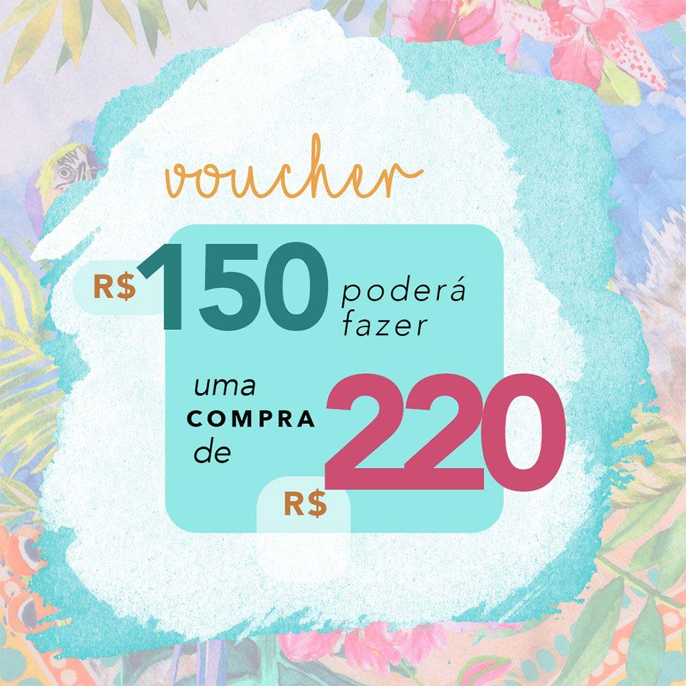 VOUCHER MUNNY R$220,00