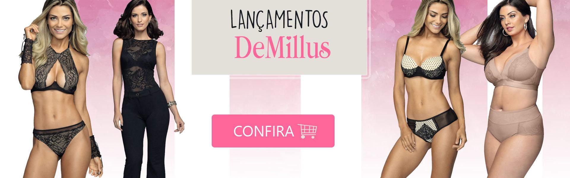 Lançamentos Novidades DeMillus