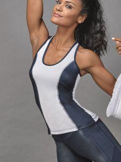Blusa Fitness Dark DeMillus 93096