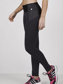 Calça Comprida Fitness Pointelle DeMillus 00107