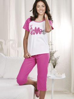 Pijama Capri Together DeMillus 85094