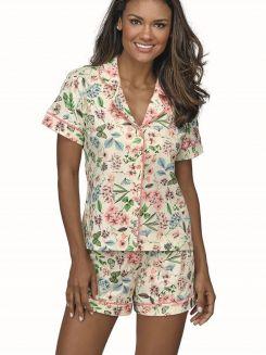 Pijama Curto Shortdoll DeMillus Soneca 20131