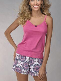 Pijama Curto Shortdoll Minueto DeMillus 20101