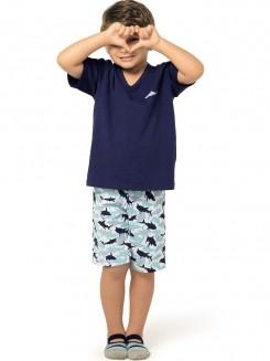 Pijama Infantil Curto Kid Arazul DeMillus 220433