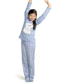 Pijama Longo Delfos DeMillus 285019