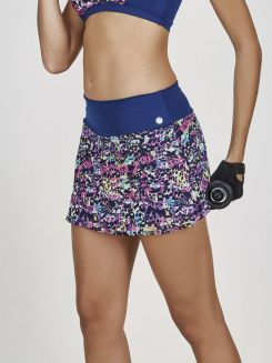 Saia Short Fitness Respingado DeMillus 94841