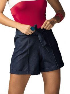 Saia Short Jeans DeMillus 294003