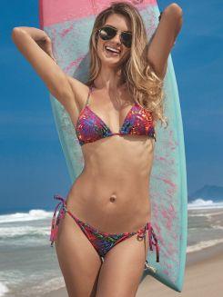 Top de Praia Cortininha Qatar DeMillus 72033