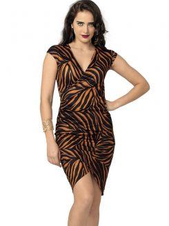 Vestido Drapeado DeMillus 95603