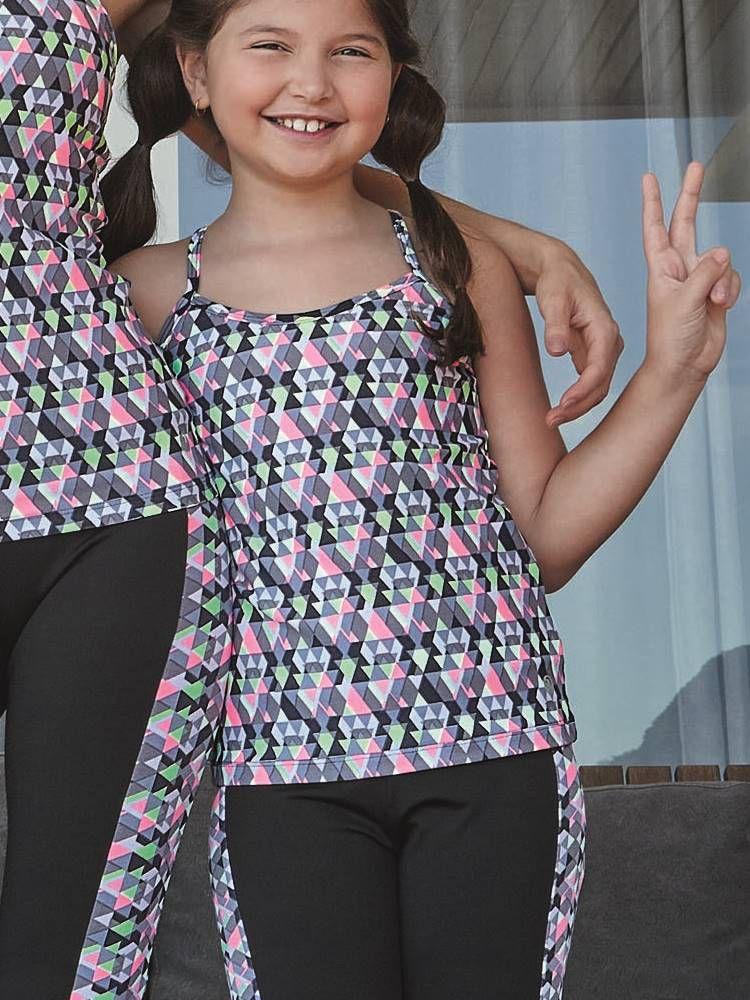 Blusa Fitness Infantil Menina DeMillus 93129