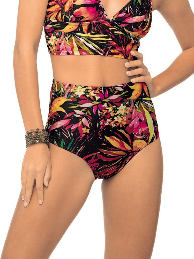 Calça Biquini de Praia Hot Pants Newport DeMillus 273142