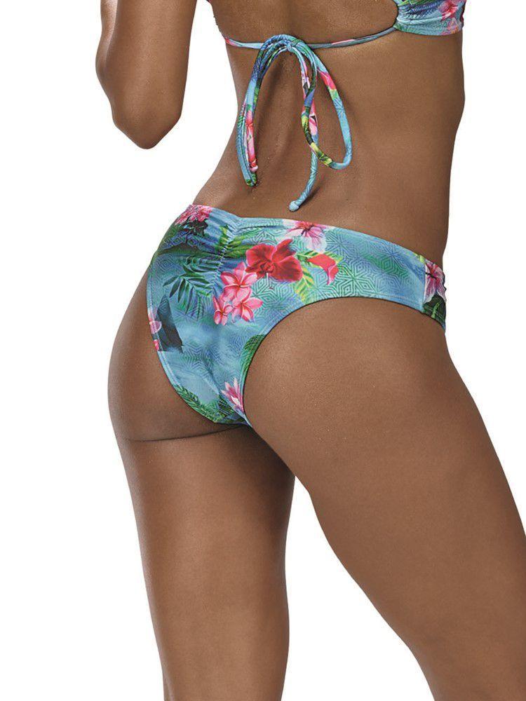 Calça de Praia Floral DeMillus 12139