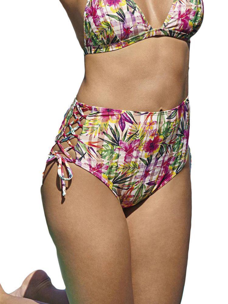 Calça de Praia Hot Pants Xadrez DeMillus 12061