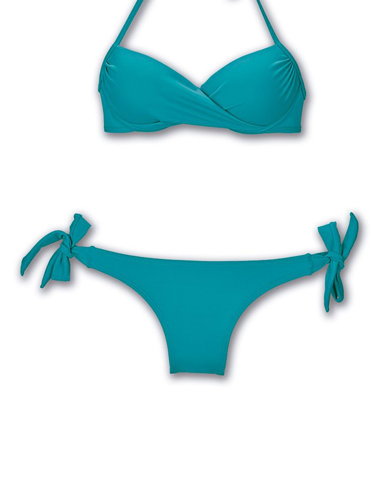 Calça de Praia Laço Azul DeMillus 12038