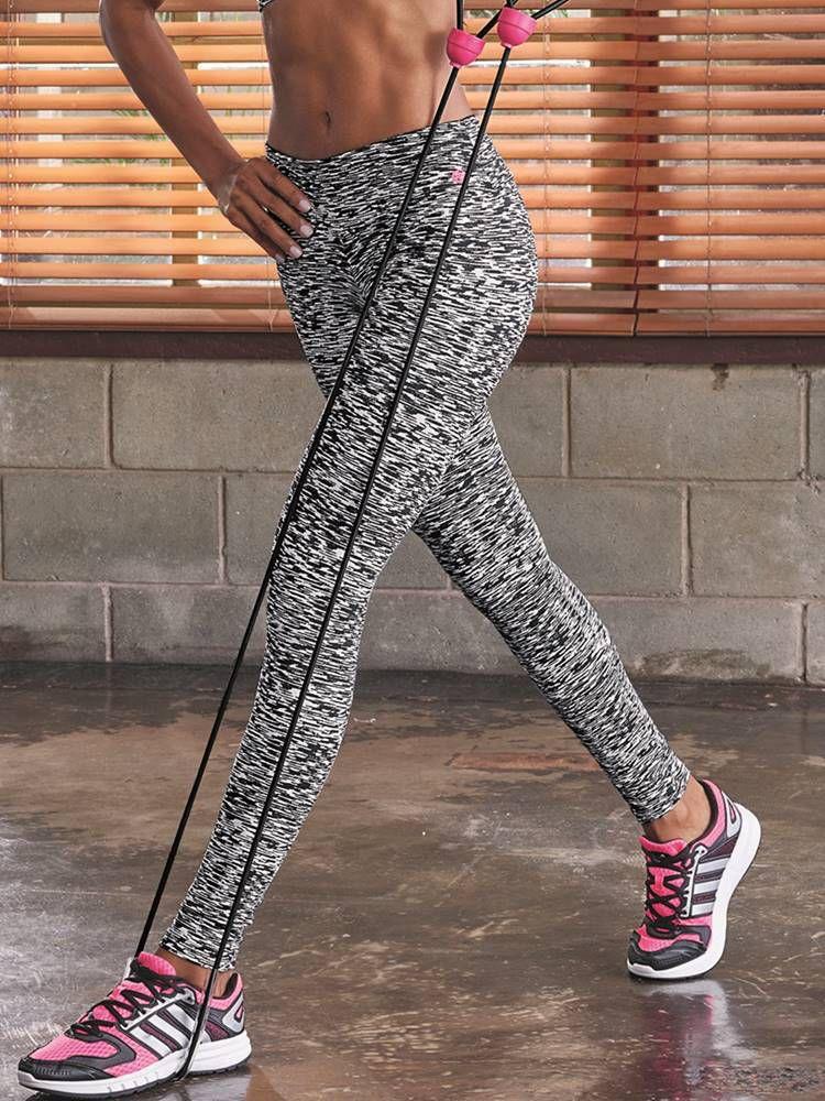 Calça Fitness Comprida DeMillus Cintilante 00119
