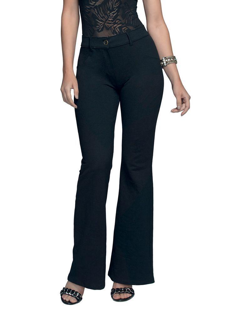 Calça Flare Jeans DeMillus 200116