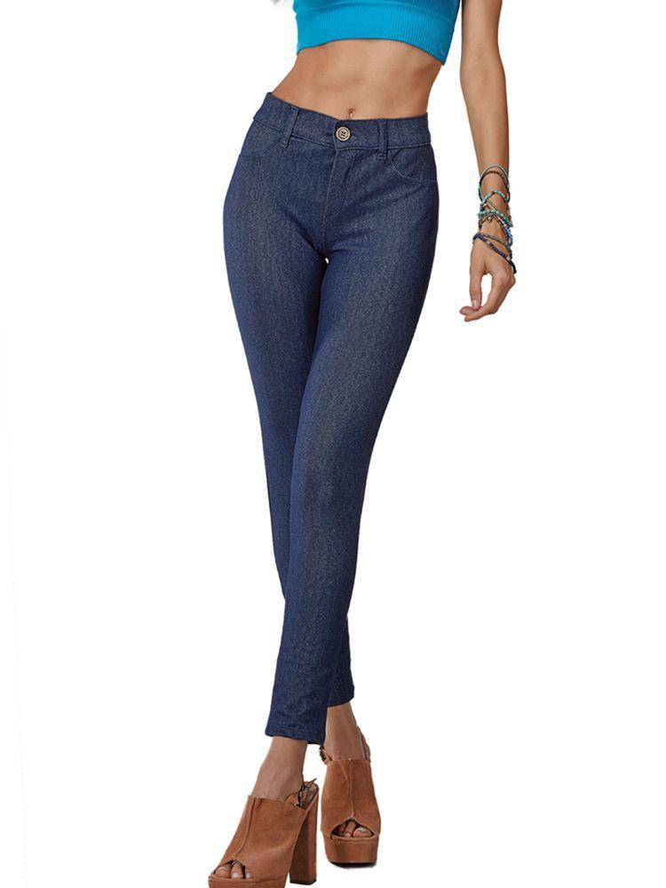 Calça Legging Jeans DeMillus 00115