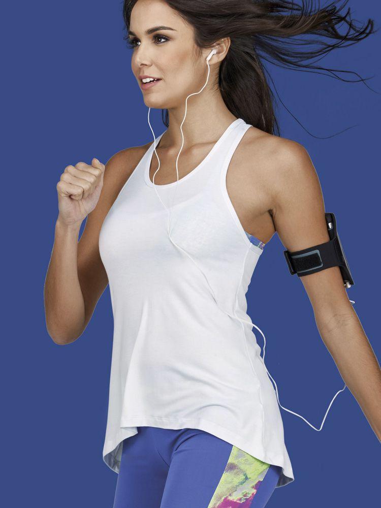 Camiseta Fitness Nadador Hipslip DeMillus 93092