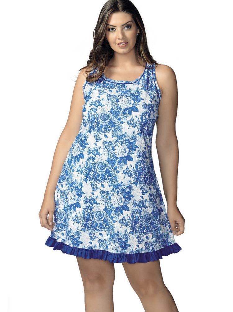 Camisola Regata DeMillus Blue 230245