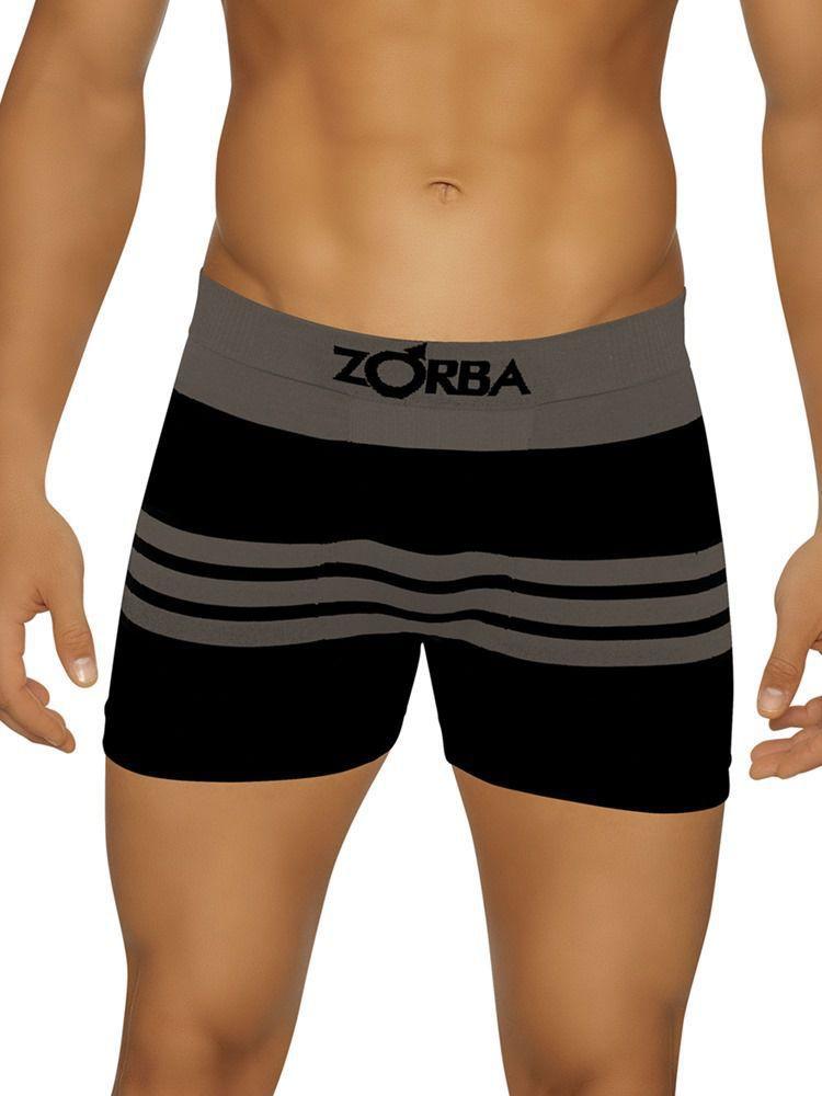 Cueca Boxer Zorba Striped DeMillus 91682