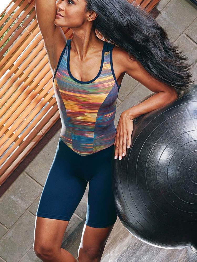 Macaquinho Fitness DeMillus Vivace 44315