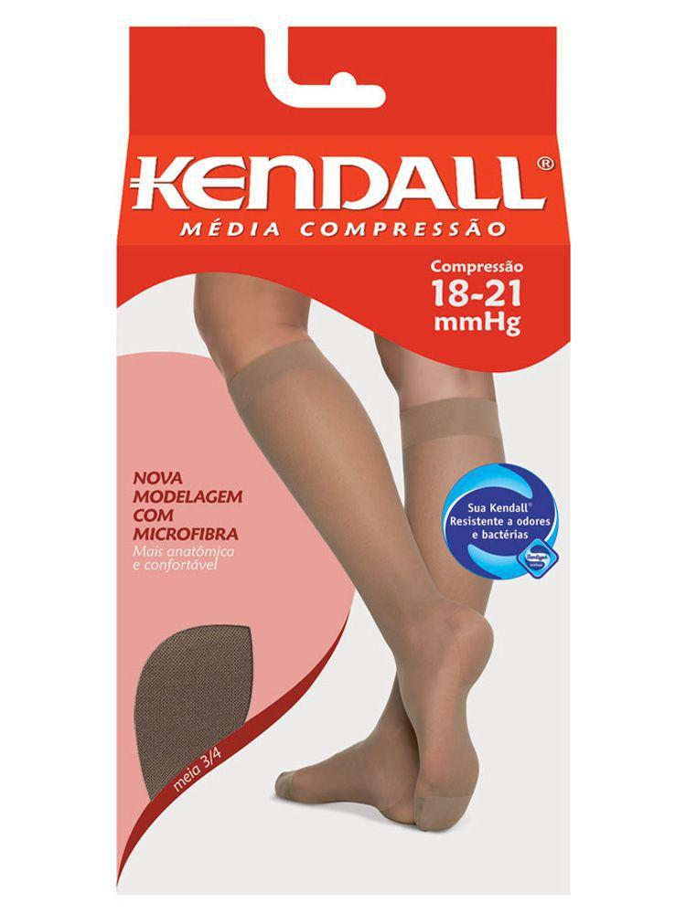 Meia 3/4 Com Ponteira Kendall DeMillus 00167