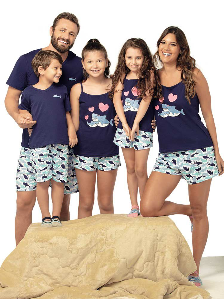 Pijama Curto Masculino Arazul DeMillus 220333