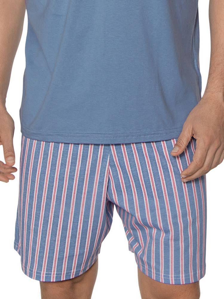Pijama Curto Masculino Dog DeMillus 220405