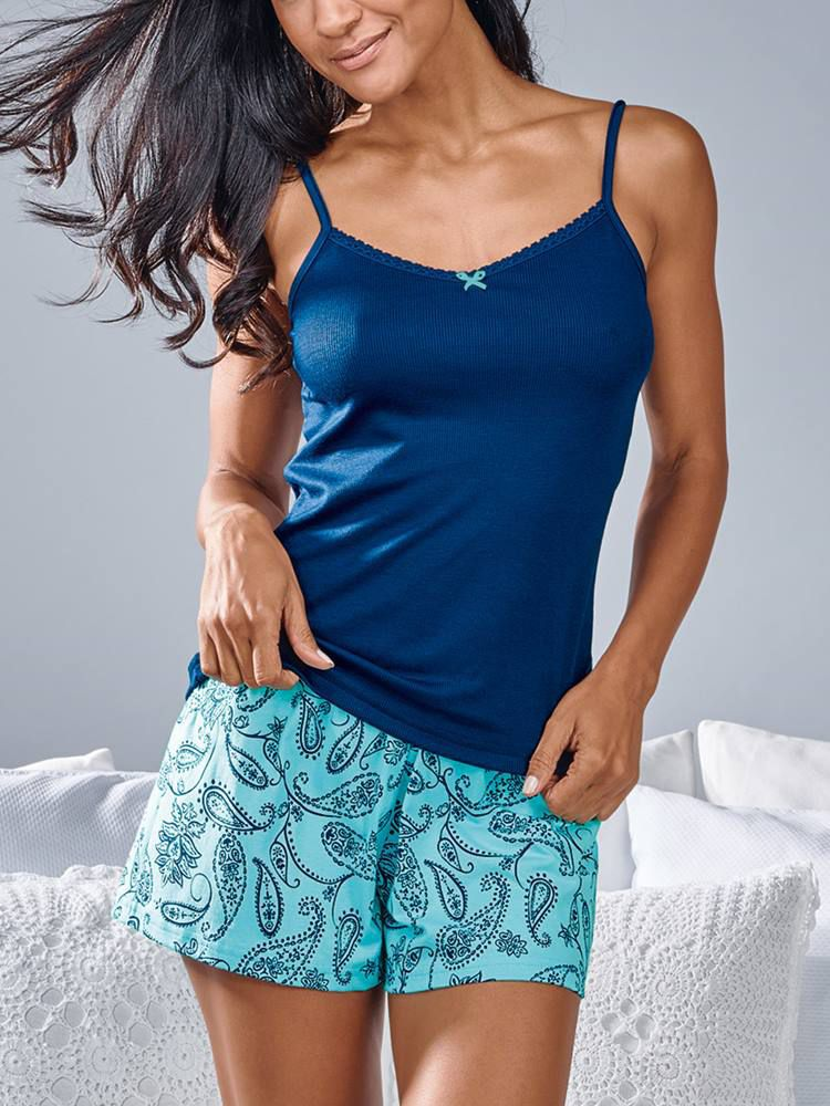 Pijama Curto Short Doll Paquera DeMillus 20115
