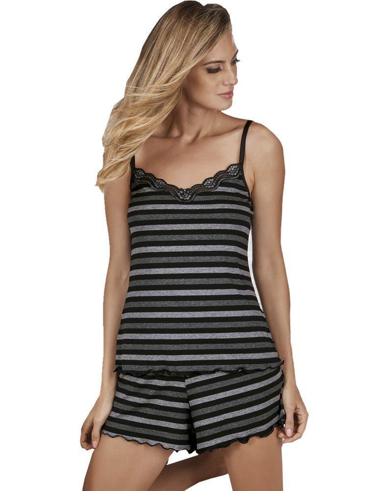 Pijama Curto Shortdoll Argent DeMillus 20748