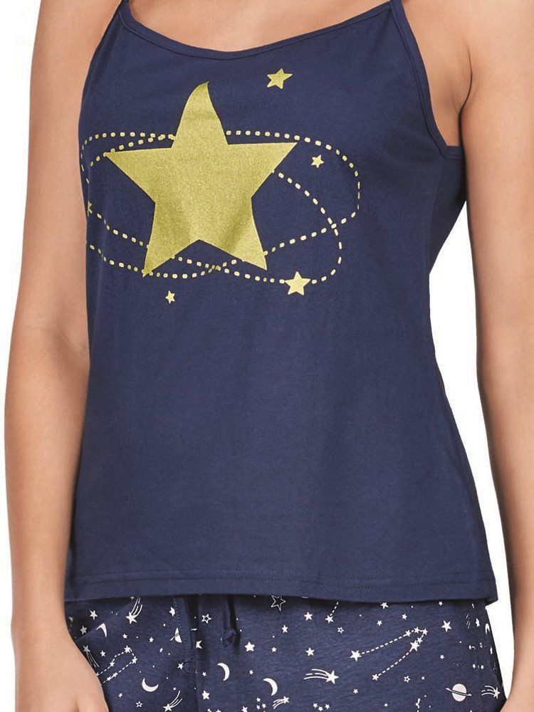 Pijama Curto Shortdoll Astral DeMillus 20127