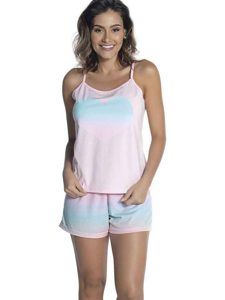 Pijama Curto Shortdoll Bali DeMillus 220510