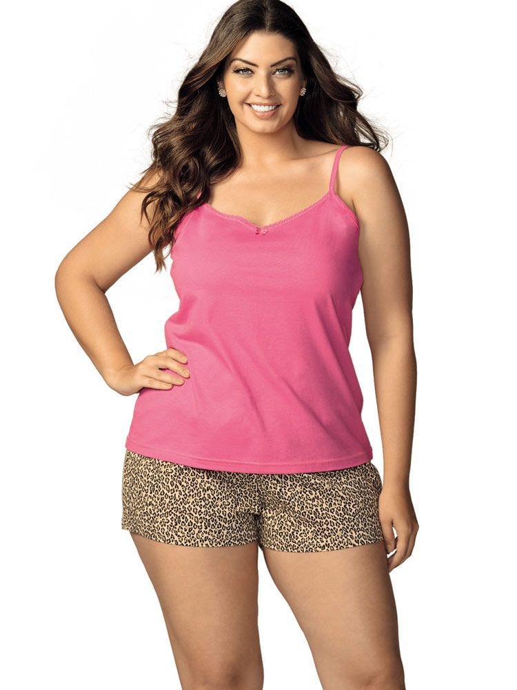 Pijama Curto Shortdoll Lover DeMillus 220123