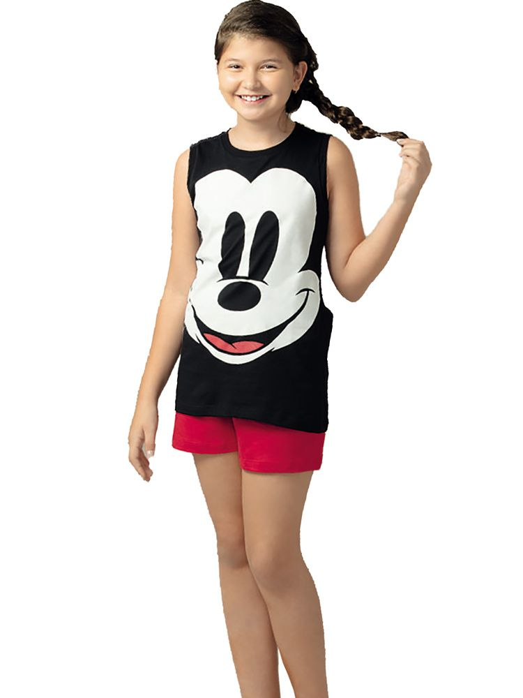 Pijama Curto Shortdoll Mickey DeMillus 220928