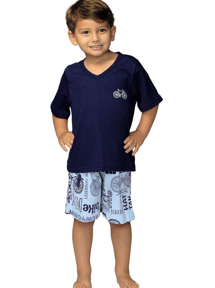 Pijama Infantil Curto Bike Kid DeMillus 220113