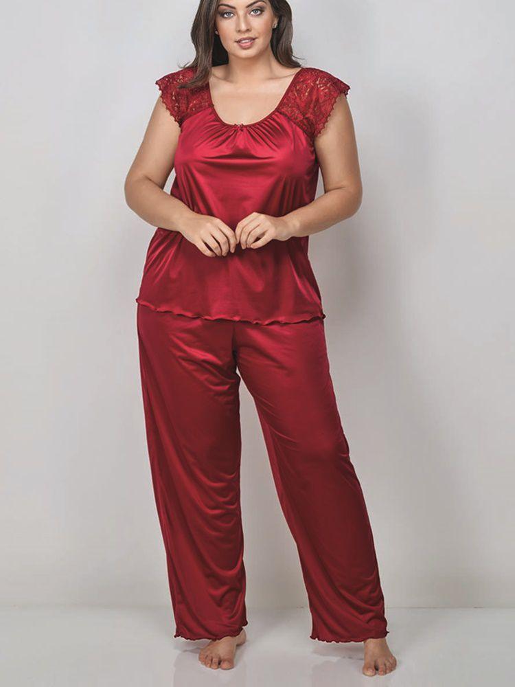 Pijama Longo Arpa DeMillus 85123
