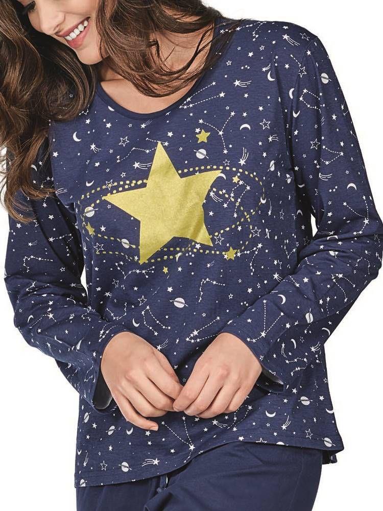Pijama Longo DeMillus Astral 85127