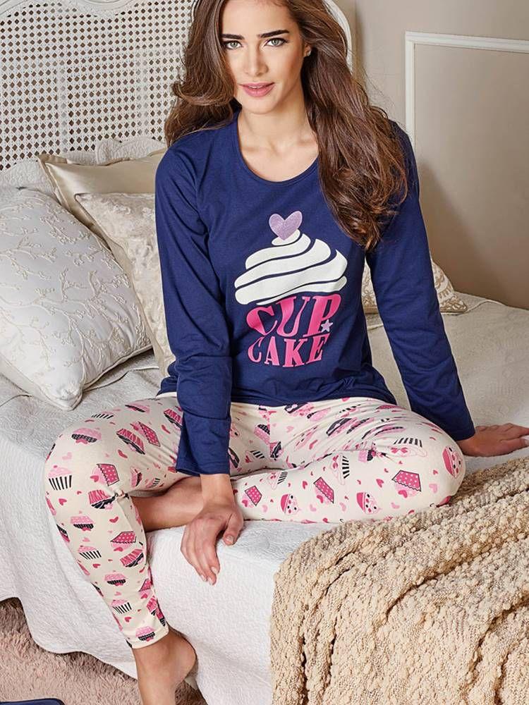 Pijama Longo Docinho DeMillus 85110