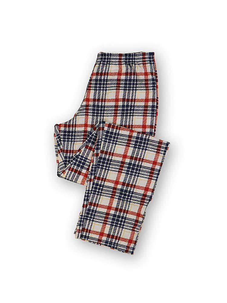 Pijama Longo Feminino Xadrez DeMillus 285232