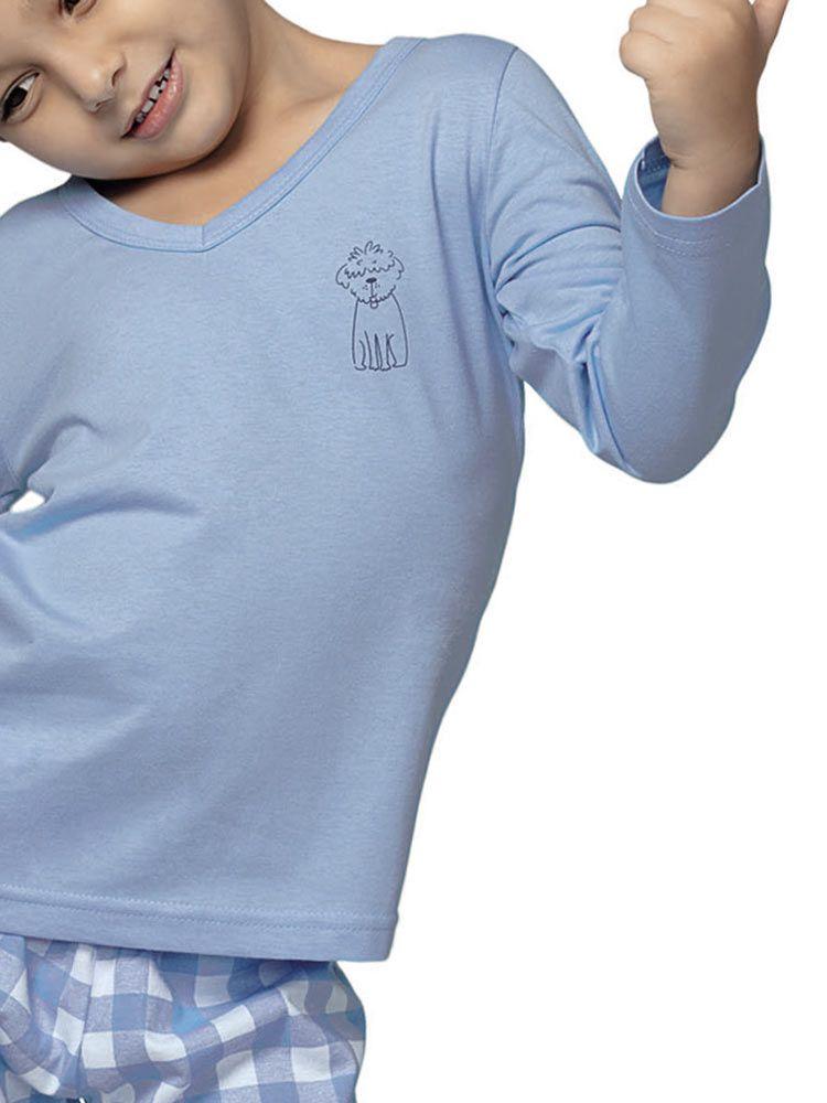 Pijama Longo Infantil Kid Delfos DeMillus 285319