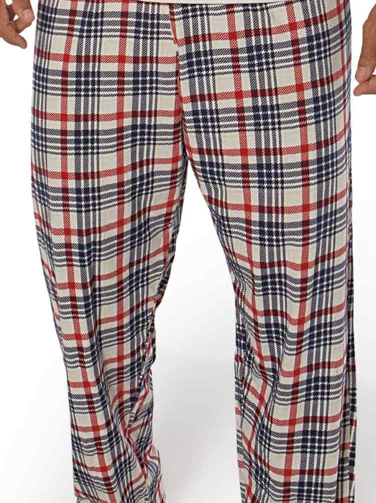 Pijama Longo Masculino Xadrez DeMillus 285333