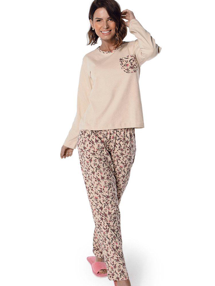 Pijama Longo Poeme DeMillus 285128