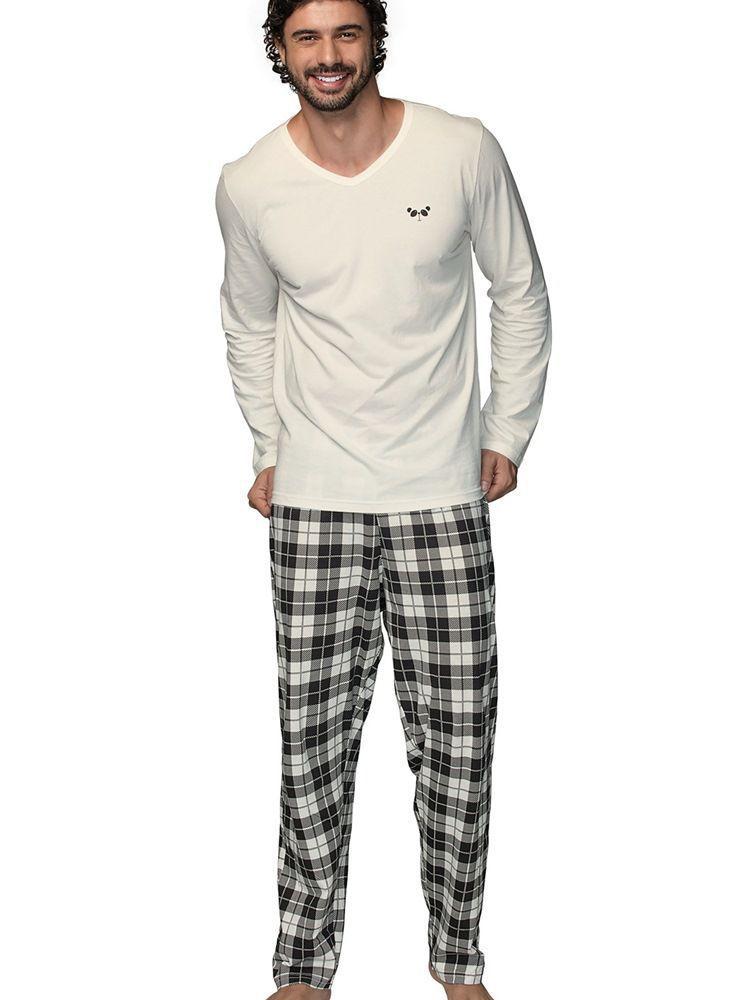 Pijama Masculino Panda DeMillus 85038