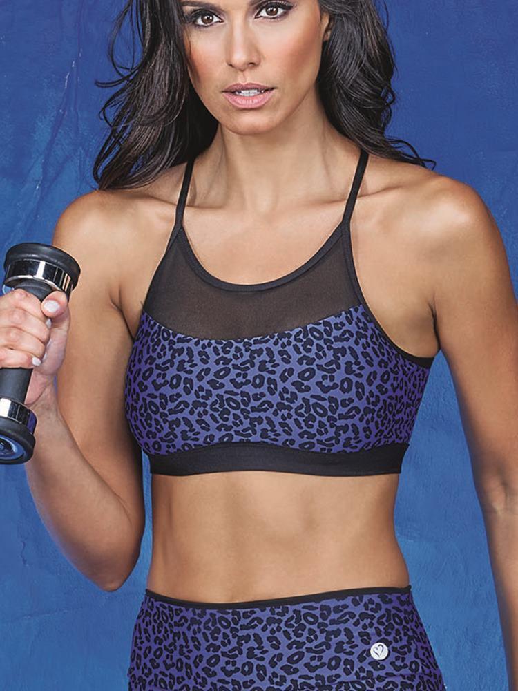 Top Fitness Oncinha DeMillus 63123