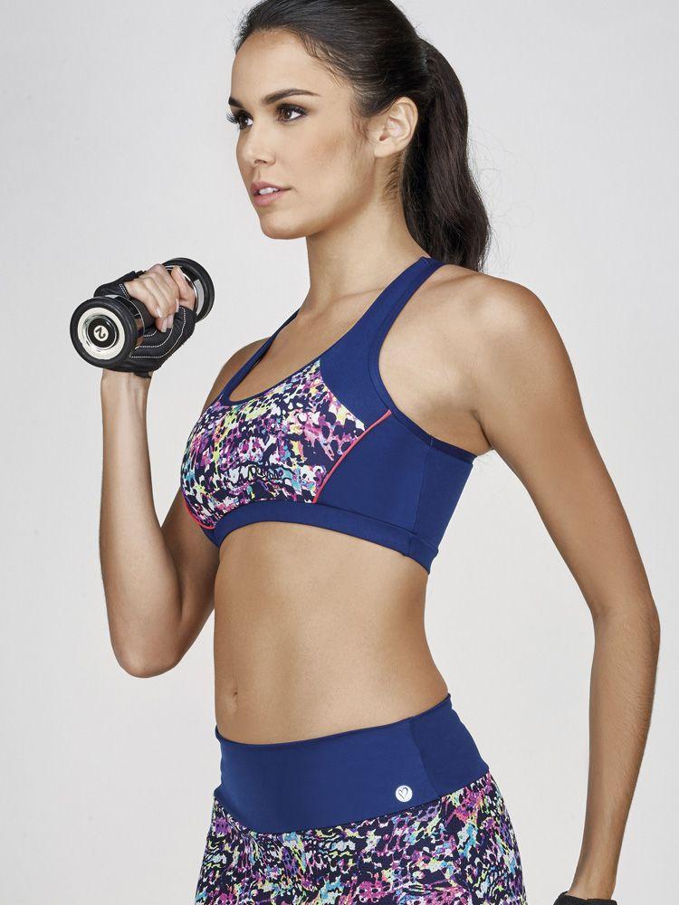 Top Fitness Recortes Respingado DeMillus 78841