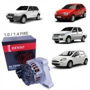Alternador 90A FIAT 1.0 1.4 Fire Sem Ar BC101210-2140RC - Denso