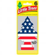 Aromatizante Little Trees Vanilla Pride Bandeira Eua Original