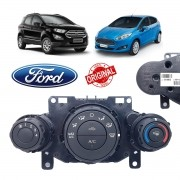 Comando Ar Condicionado Ford New Fiesta, Ecosport CN1519980EE - Original