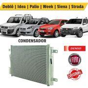 Condensador Fiat Palio / Ideia / Strada - Denso
